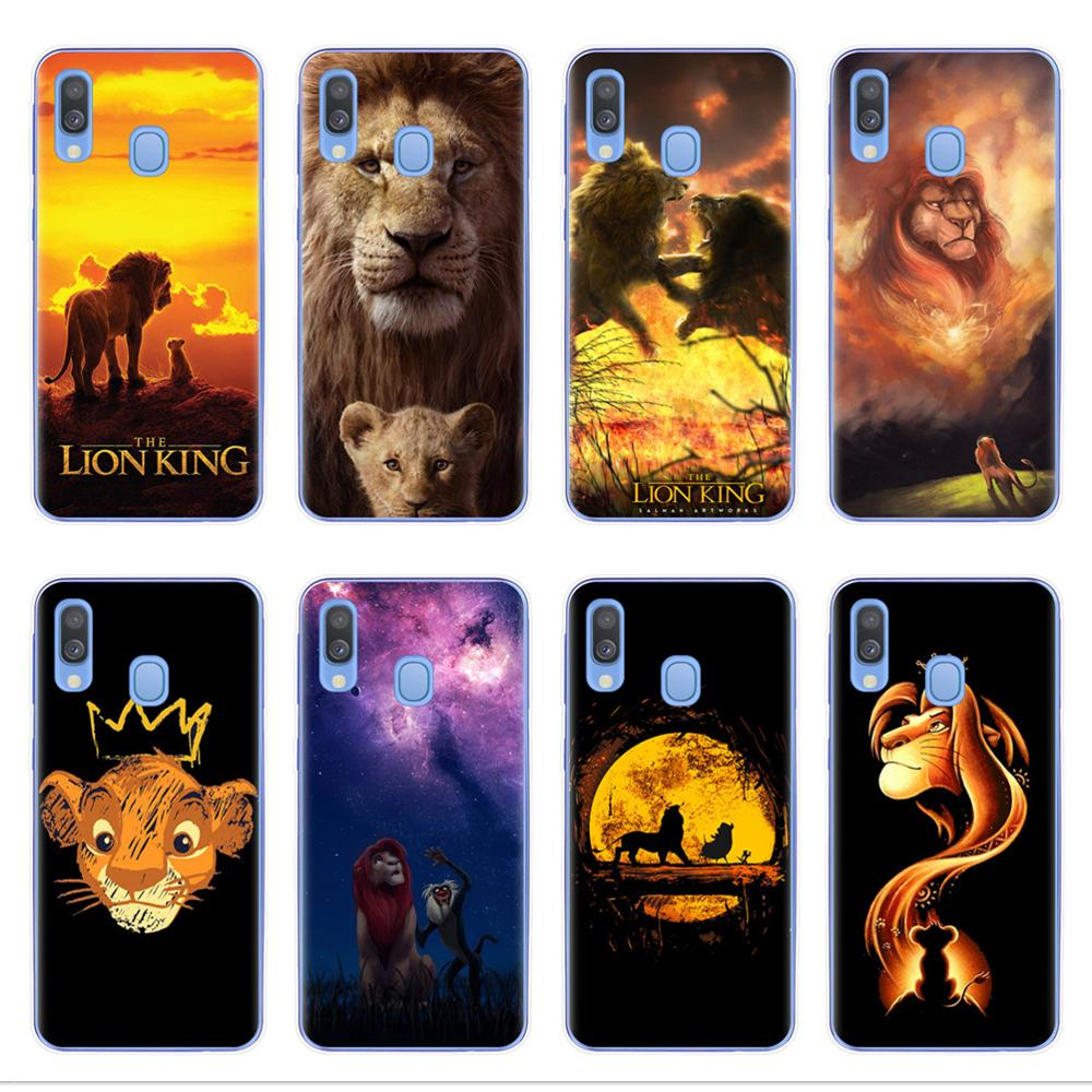 The Lion King 2019 Phone Case for <font><b>Samsung</b></font> A10 A20 <font><b>A30</b></font> A40 A50 A60 A70 A80 A7 A9 A6 A8 Plus 2018 Soft Silicone TPU Cover <font><b>Capinha</b></font> image