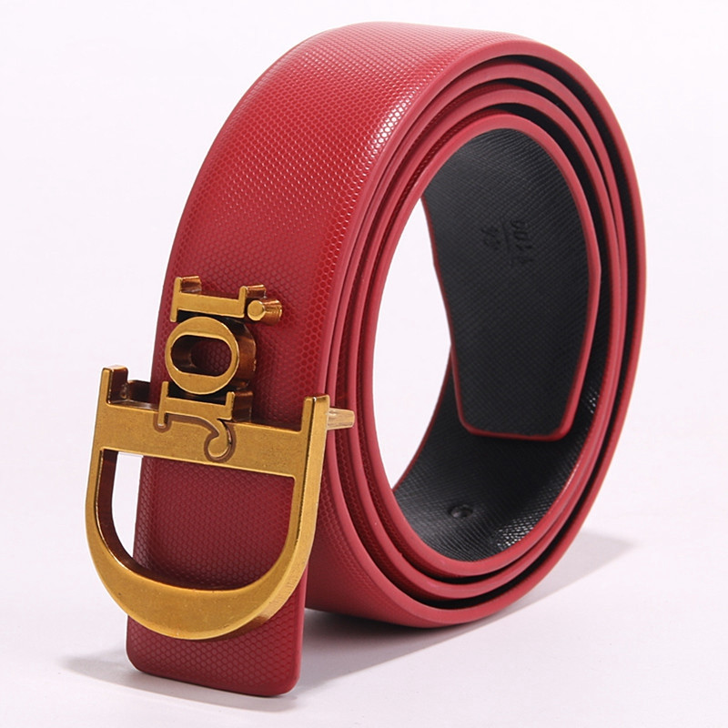TOGIC Fashion Woman Genuine Leather Belt Cowskin Woman Belts For Dress