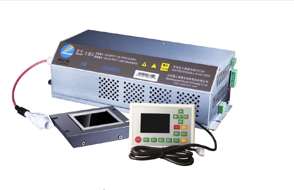 High Quality HY-Z80 CO2 Laser Power Supply  With Display For EFR 60-80w Glass Tube