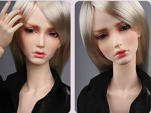 Half closed eyes Ver 1//4 BJD SD Doll B Girl Women Free eyes+Face make up