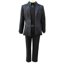Anime Steins Gate Rintaro 0 Okabe Cosplay Costumes Halloween Party Uniform  Suit full set coat+ 0c401a3bca1d
