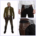 XCOSER Star Wars Han Solo Belt With Gun Holster COSplay Mens Waistband Fancy Set