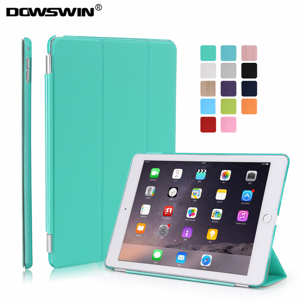 case for ipad air 2,dowswin smart cover for ipad air 2 pu leather case separated front and back cover for ipad Auto Sleep / Wake lichee pattern protective pu leather case stand w auto sleep cover for google nexus 7 ii white