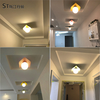 Modern LED Ceiling Light 3W wall Sconce for Art Gallery Decoration Front Balcony lamp Porch light corridors Light Fixture