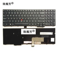US Black New English Replace Laptop Keyboard For Lenovo ThinkPad E531 L540 W540 T540 T540P E540
