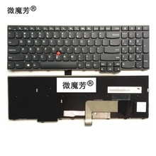 US Black New English Replace laptop keyboard For Lenovo For ThinkPad E531 L540 W540 T540 T540P