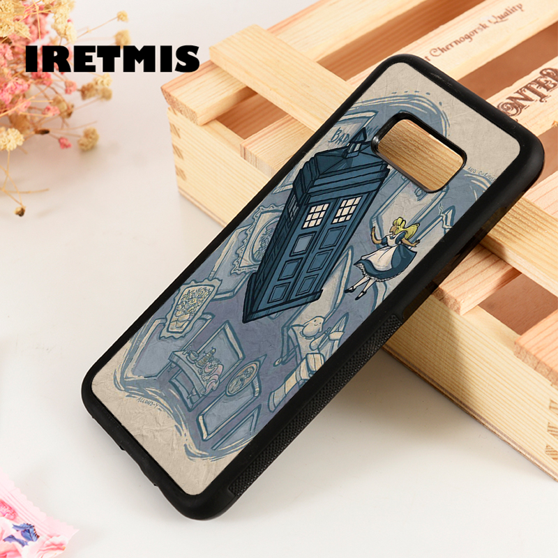 Phone Bags & Cases Fitted Cases Iretmis S3 S4 S5 Silicon Rubber Phone Case Cover For Samsung Galaxy S6 S7 S8 S9 Edge Plus Note 3 4 5 8 9 Alice Tardis Doctor Who Exquisite Craftsmanship;
