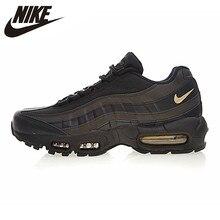 Breathable Zwart Wit Nike Air Max 95 Heren Online Sale