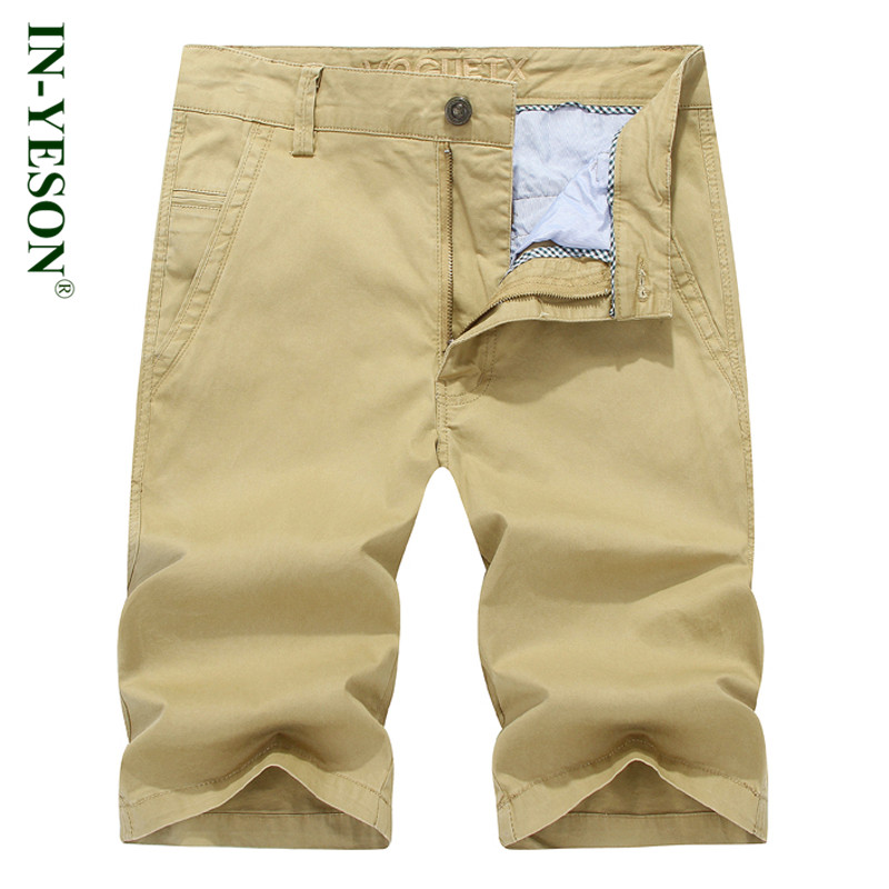 Casual men shorts brand straight knee-length army cargo shorts ropa hombre men clothes 2018 Summer short masculino plus size 44