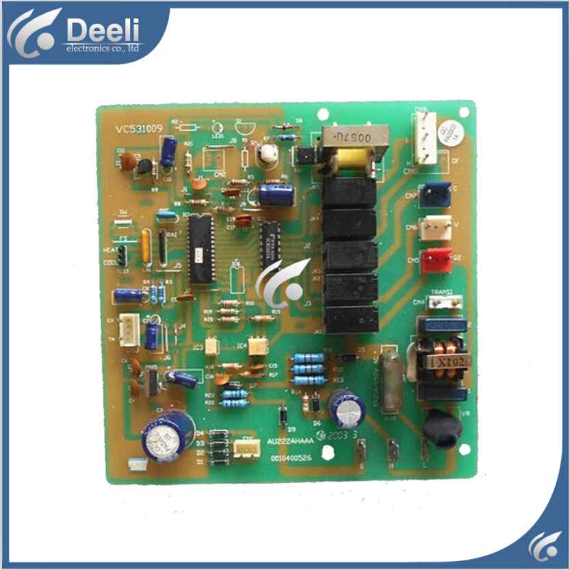 95% new good working for air conditioning Computer board 0010400526 VC531009 good working цены онлайн