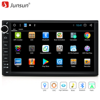 Junsun 7 Wifi Car DVD 2 Din Android Car Radio Multimedia Player 1024 600 Universal GPS