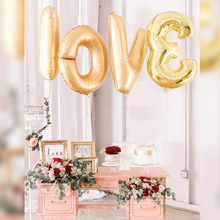 Zilue 1Pcs 40″ Large Number Gold Aluminum Foil Balloon Wedding Festival Decoration Baloons Valentine Anniversary Party Balloons