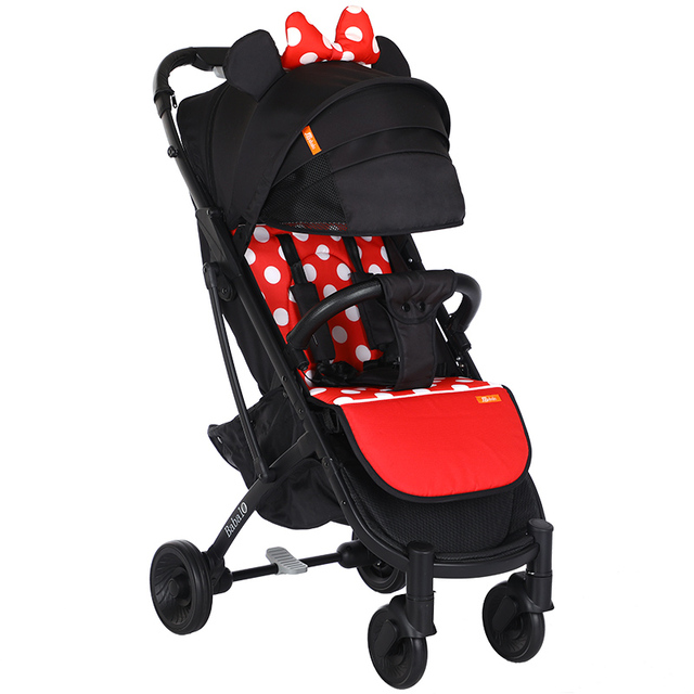 Babalo YOYA PLUS 3 baby stroller delivery free ultra light folding can sit or lie high landscape suitable 4 seasons high demand 4