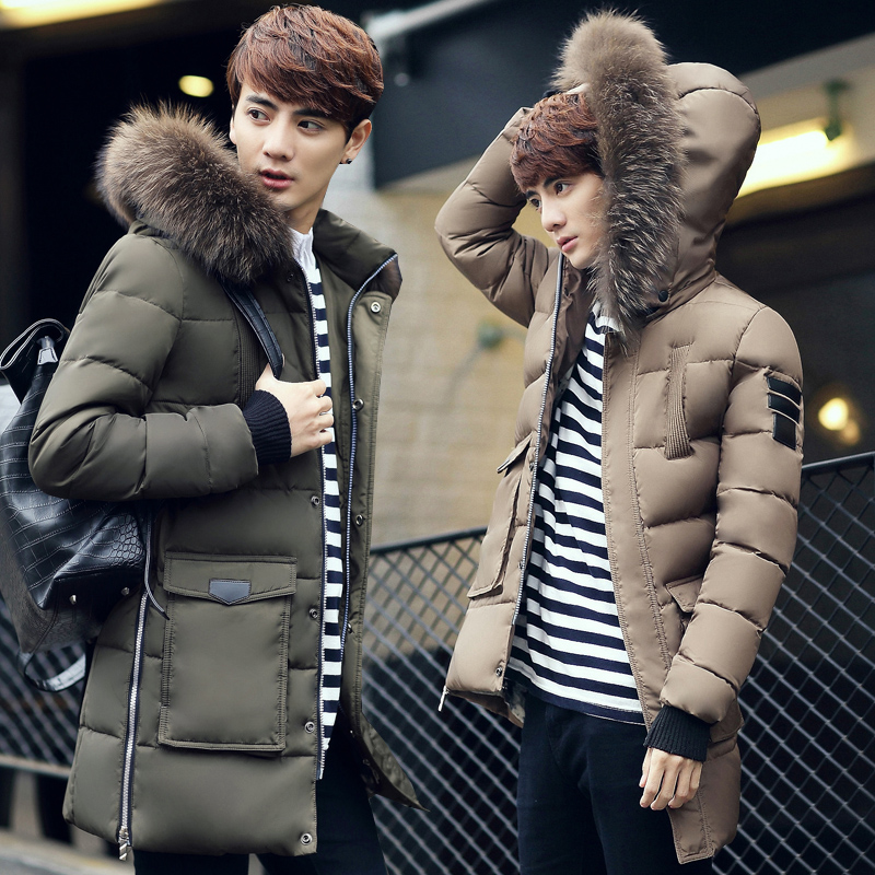 2018 Autumn And Winter Long Hooded Coat Men Brand Fashion Casual Men Jacket Warm Clothing Jackets Male Manteau Capa Jas