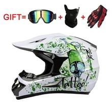 Accesorios de motocicletas y Piezas de equipo de Protección casco de la bicicleta de Cross country racing motocross downhill bike helmet 125