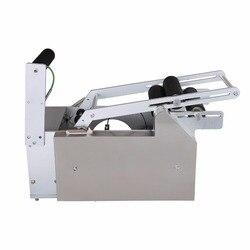 MT-50 półautomatyczna maszyna do etykietowania butelek klej drukarki z okrągłe elektryczne