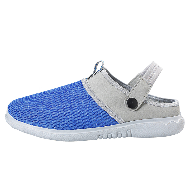 2018 New Summer Men Beach Sandals Outdoor Slippers Male Lighted Sandalias Hombre Slip on Man Casual Sneakers