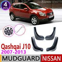 Car Mudguards for Nissan Qashqai J10 2007 2008 2009 2010 2011 2012 2013 Mudguard Mud Flaps Guard Splash Flap Fender Accessories