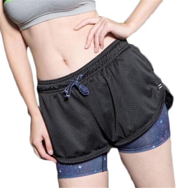 2016 El Más Nuevo Estilo de Pantalones Cortos de Las Mujeres Del Acoplamiento Del Verano Manera de La Alta Cintura Ceñida Corto Femme ZMF789542 Elástico Más Tamaño Ocasional