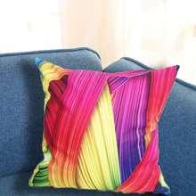 Decorative throw cushion cover Nordic Abstract geometric colorful for sofa home car decor pillowcase case