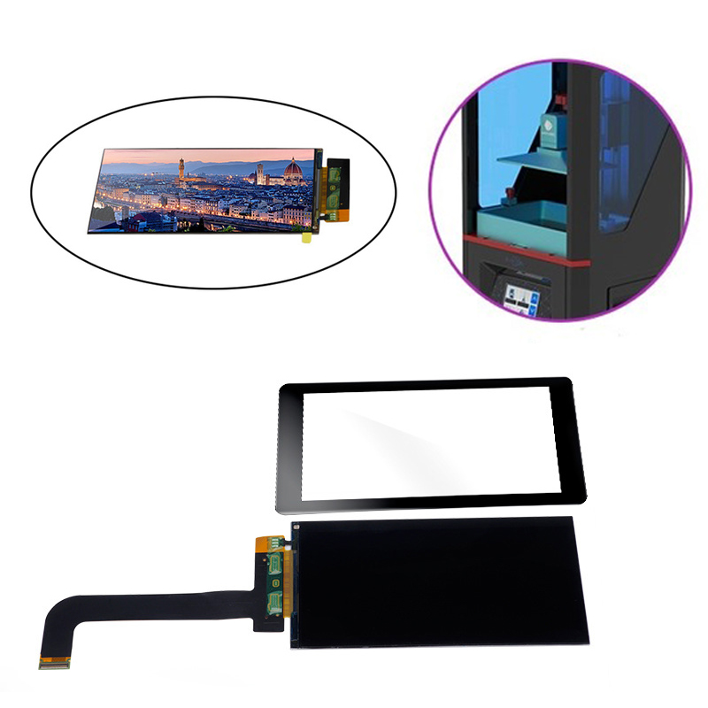 5.5 inch lcd 2560x1440 2K LS055R1SX03+glass protectors for ANYCUBIC Photon Wanhao D7 Light-Curing 3d printer VR projector parts(China)