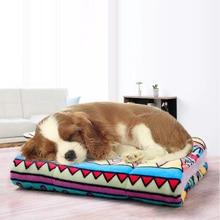 2019 Dog Beds/Mats Large Soft Warm Cat Pet Mat Bed Pad Self Heating Rug Thermal Washable Pillow Beds Mats
