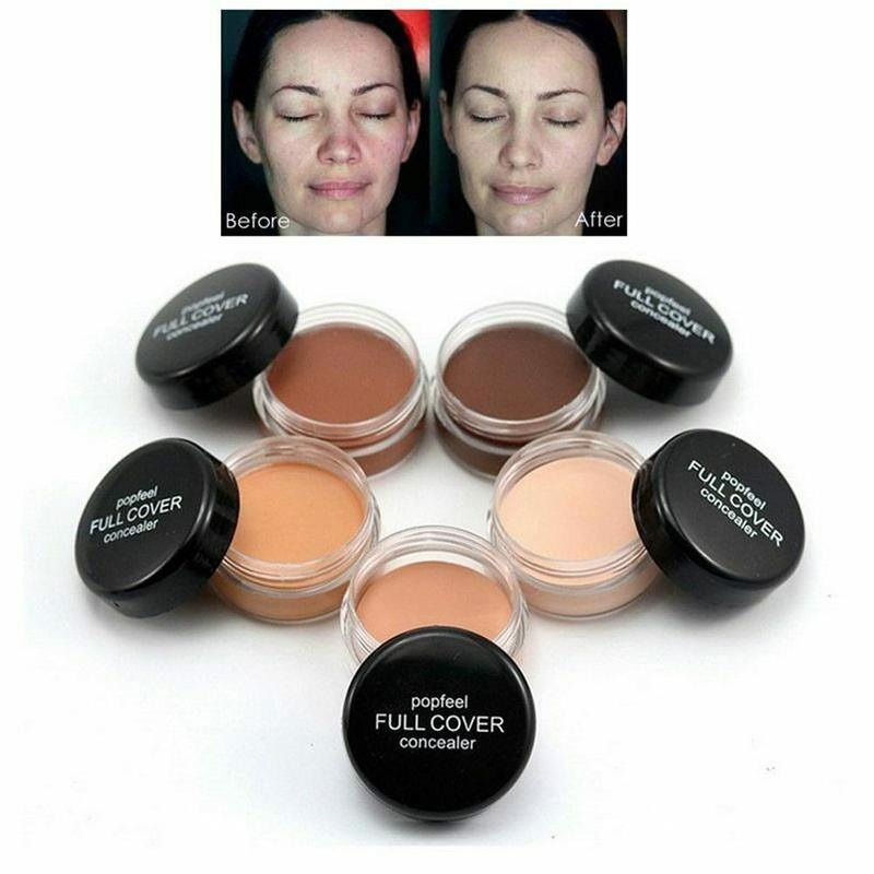 Full Cover Repair Concealer Makeup Dark Circles Spot Hide Cosmetic Face Corrector Foundation Contour Concealer Cream Cosmetic image