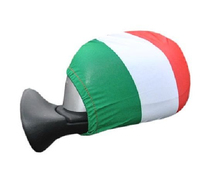 Italian Flag Car Side Mirror Cover Italy Set of 2 Covers  Soccer italian berlitz reference set