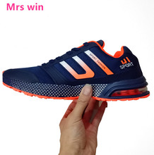 2017 AIR men running shoes Spring outdoor sport shoes Marathon Long Run mesh Lace with breathable non-slip sneakers