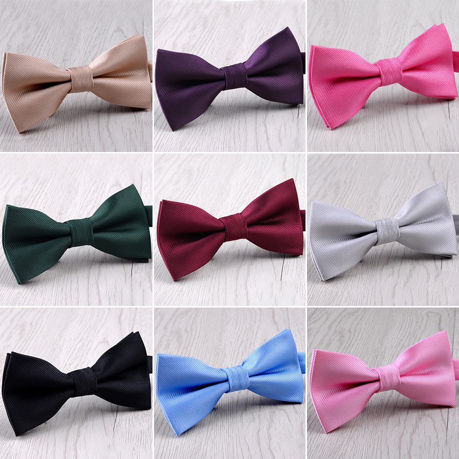 Mens Bowtie Butterfly Knot Man Accessories Luxurious Bow Ties For Men Black Cravat Formal Commercial Suit Wedding Gifts Ties