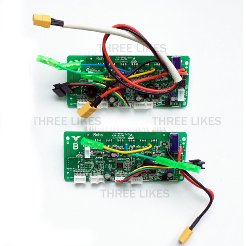 hoverboard double system control circuit board motherboard pcbhoverboard double system control circuit board motherboard pcb mainboard for 2 wheel self balancing electric scooter replacement in scooter parts
