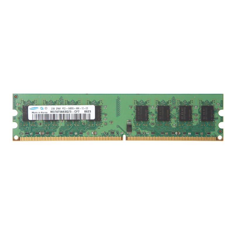 For Samsung Desktop Memory 2GB DDR2 800MHz PC2-6400U Computer PC RAM 240-Pin ...