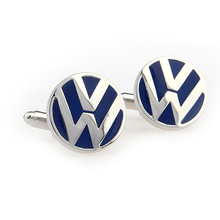 Запонки с логотипом Volkswagen, мужские запонки, ювелирные изделия