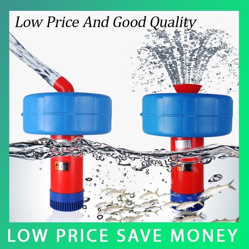 купить 9.1940m3/h Submersible Floating Pump Big 220V/50HZ 750W Capacity Electric Irrigation Pump по цене 3229.88 рублей