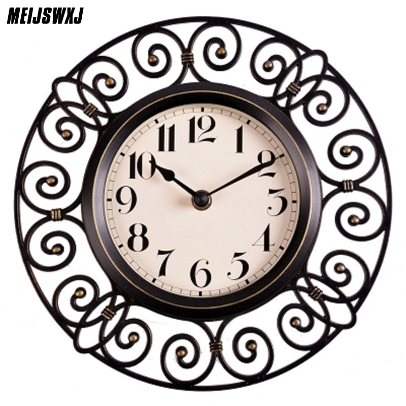 10 Inches Wall Clock Saat Reloj Clock Duvar Saati Horloge Murale Relogio De Parede Klok Orologio Da Parete Home Decor Clocks