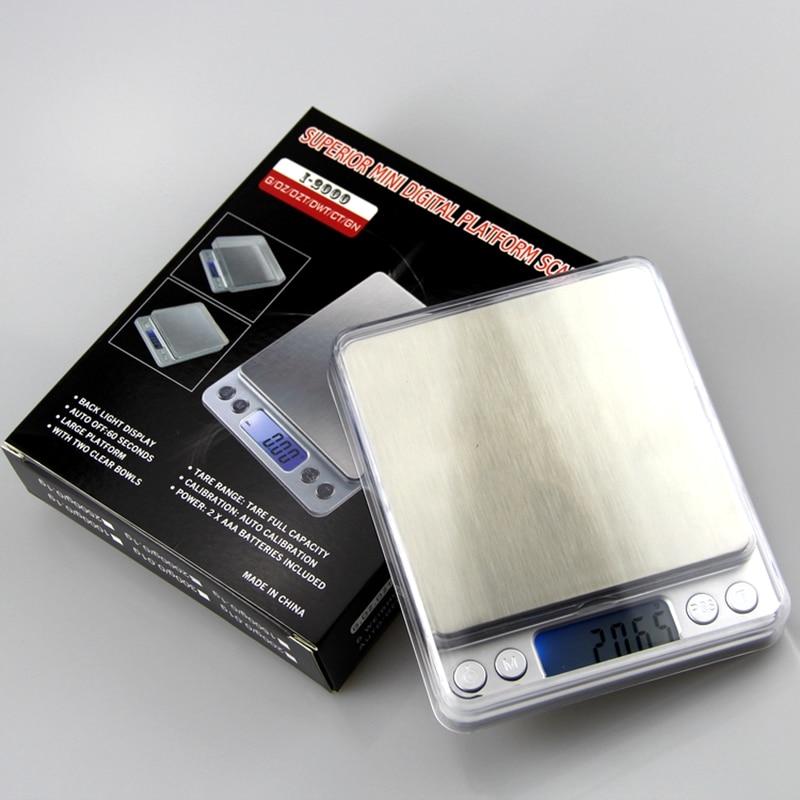 Bilancia elettronica da cucina 3kg 0.1g 3000g 0.1g LCD Tasca digitale - Strumenti di misura - Fotografia 6