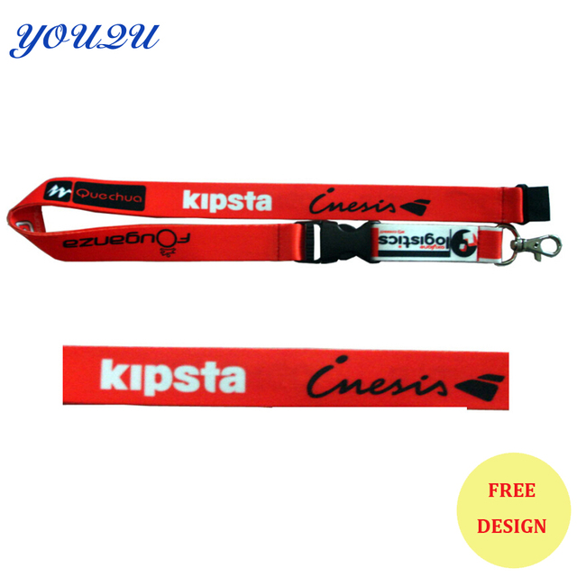 US $361 15 |Fashion heat transfer printing lanyard sublimation lanyard  printing lanyard lowest price+ escrow accepted+free shipping-in Card & ID