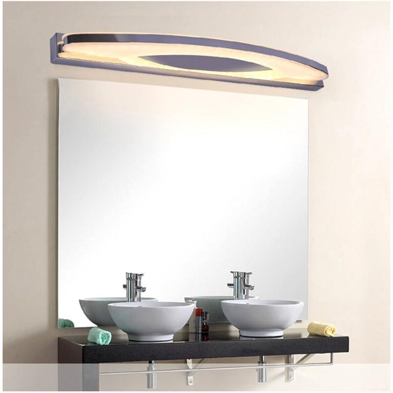 led wall lamp 220v indoor mirror-front Modern 12W 54CM bathroom led mirror light fixtures <font><b>home</b></font> <font><b>decoration</b></font> lighting