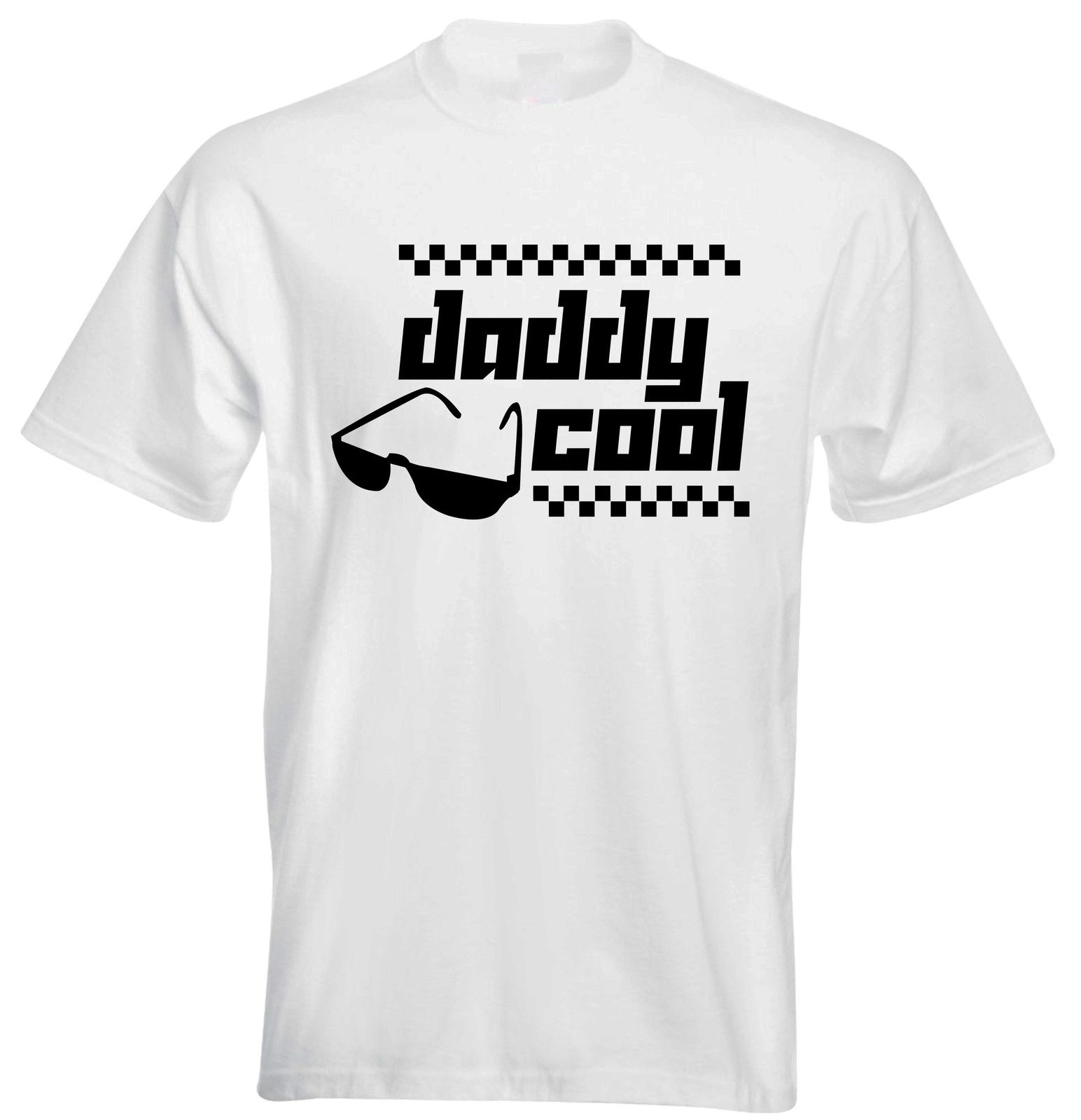 Daddy Cool Slogan Sunglasses Car Race TraSport Game Dad Fathers Men T shirt ...