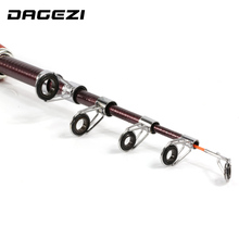 DAGEZI 1.4m 130g ice fishing rod Spinning Casting Fishing Rods super short Fly Fishing tackle