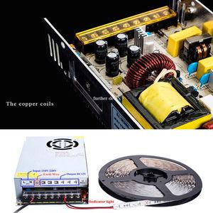 Image 2 - Led treiber 5V 12V 24V 36V 48V 1A 2A 5A 10A 20A 30A 60A LED netzteil AC85 265V Beleuchtung Transformatoren Für LED Power Lichter