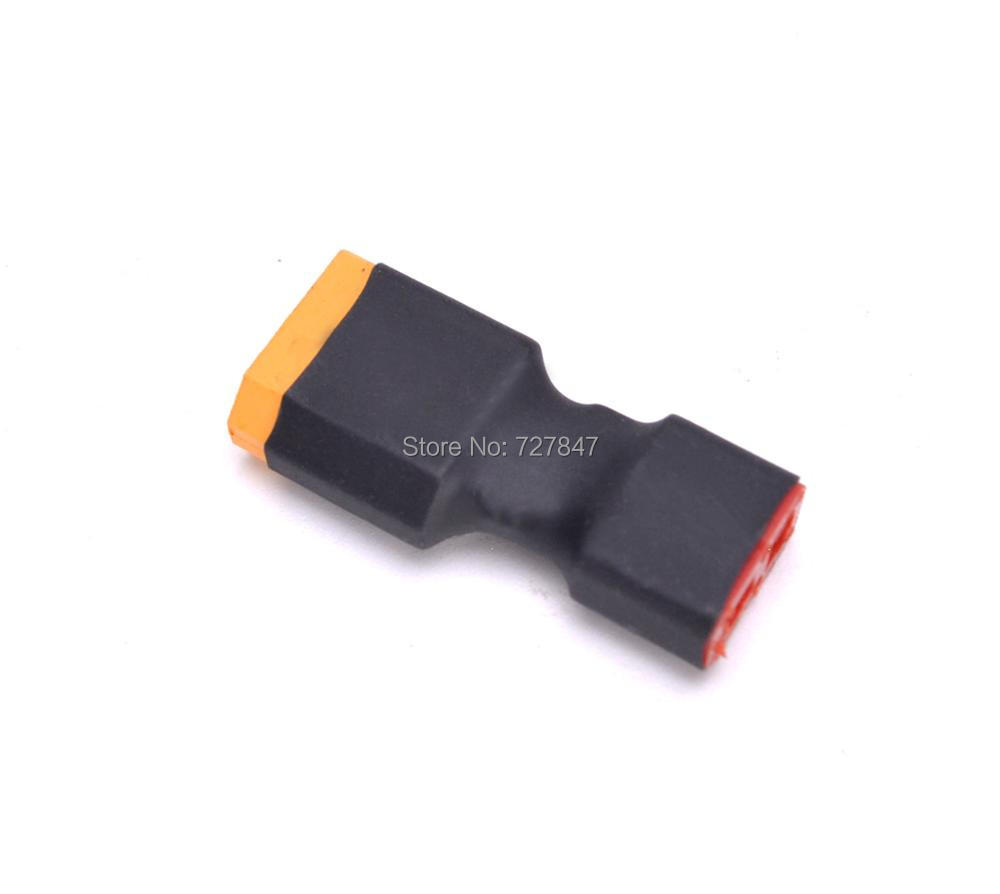 XT60 Male To Deans T Plug Connector Female Conversion Adapter Wireless Car Heli