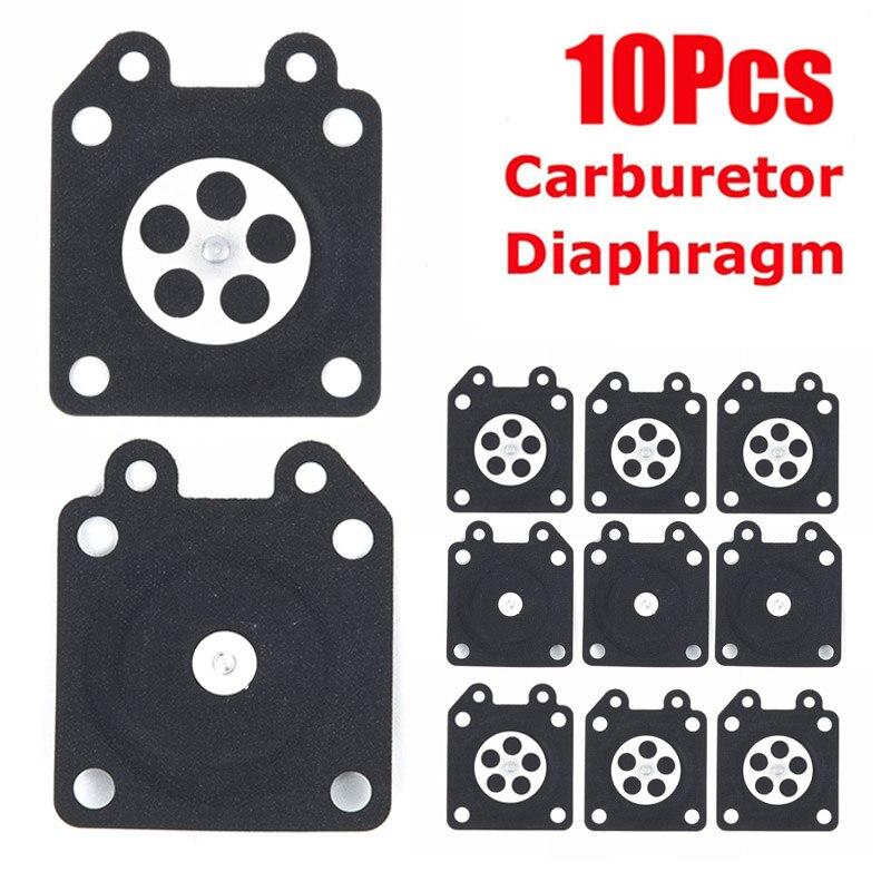 10 Pièces Carburateur Diaphragme Kit pour Walbro 95-526 95-526-9 95-526-9-8 Carb