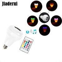 Jiaderui led炎電球ナイトライト付きbluetoothスピーカーリモートコントロール音楽プレーヤーktvステージライト用iphone 6 s/7/サムスン