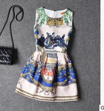 yue yue clothes store 2016 Botoming Dress Womens Summer Style Sexy Party Vestidos Tutu Dresses Fashion  Female Maxi Boho Clothing Bodycon Robe J681