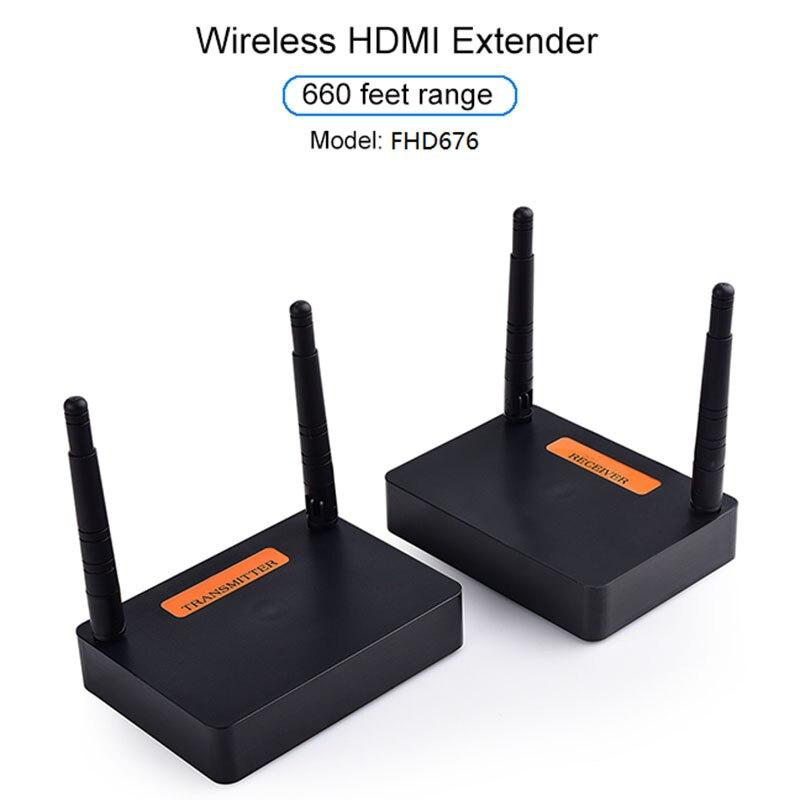 5.8 GHz/2.8 GHz HDMI Extender Full HD 1080P 60Hz sans fil Audio vidéo émetteur récepteur