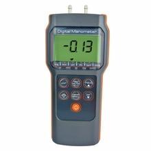 Wholesale prices Professional Digital Economic Manometer 15.000psi Gauge &Differential Pressure meter bar mmHg inHg kPa mbar