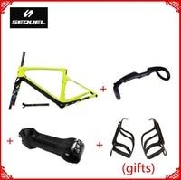 Купить углерода велосипед кадры могут получить 2 клетки бутылки углерода подарки Toray T1100 PF30/BB30 Di2 рамка углерода дорога на заказ картины