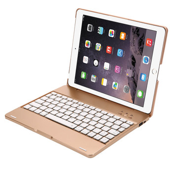 For iPad 2/3/4 Smart Clamshell ABS Bluetooth Russian/Hebrew/Spanish Keyboard Case Cover With Rechargeable 4000mAh Power Bank