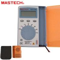 MASTECH MS8216 הדיגיטלי מודד 4000 ספירה Autoranging LCD AC/DC מתח DMM כיס בודק גלאי עם דיודה